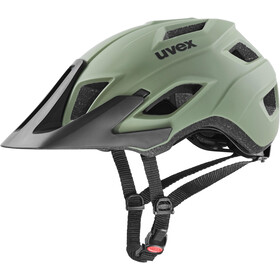 UVEX Access Casco, verde oliva/nero